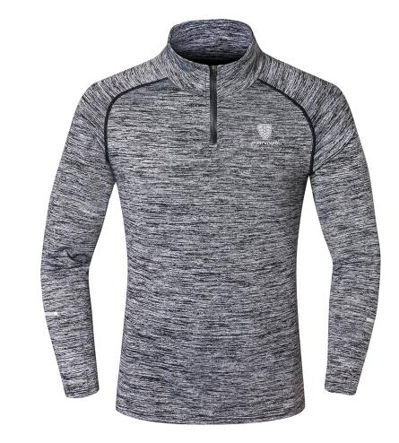 NEW Sport Men Quick Dry T-shirt Long Sleeve Sport Top Sportswear Men Fitness Out