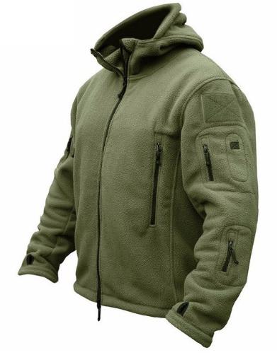 MAGCOMSEN Winter Jackets Men Fleece Military Tactical Jacket Softshell Thermal H