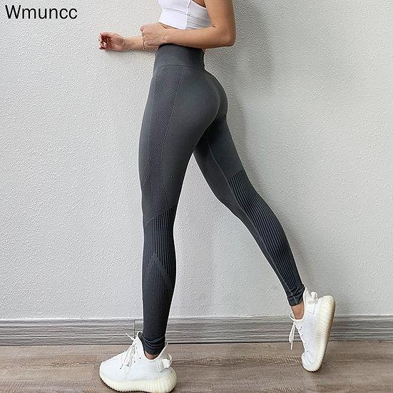 Fitness High Waist Legging Tummy Control Seamless Energy Gymwear Workout Running
