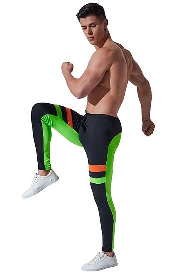 Mens Running long pants Camo Compression Pants Skinny sport Leggings Base Layer