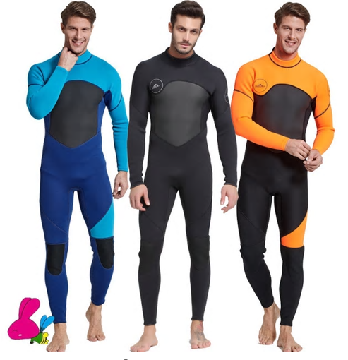 3mm Neoprene Wetsuit Men Women Swimsuit Equipment For Diving Scuba Swimming