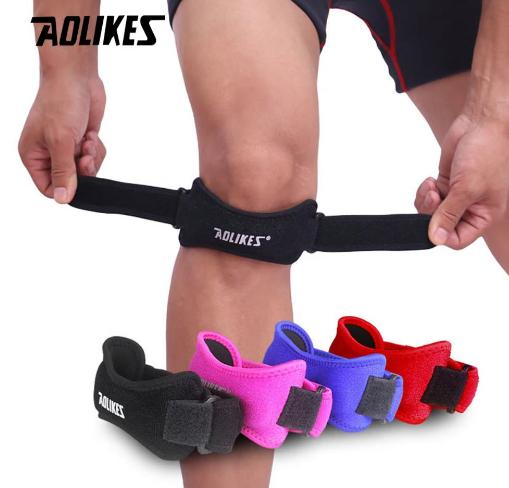 AOLIKES 1PCS Adjustable Knee Support Brace Patella Sleeve Wrap Cap Stabilizer Sp