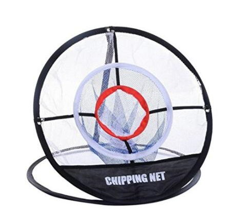 Golf Pop UP Indoor Outdoor Chipping Pitching Cages Mats Practice Easy Net Golf T