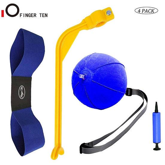 4 Pc/Set Golf Swing Training Aid Arm Band Trainer Impact Ball Inflator Posture