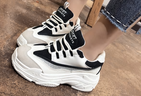Size35-43 2018 New Fashion Autumn Women Shoes Ladies Casual Shoes High Platform