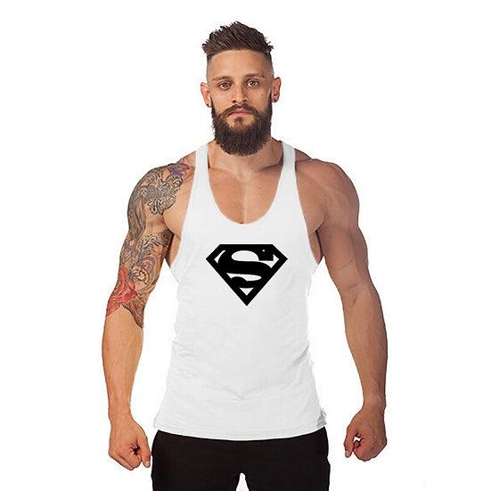 Summer Bodybuilding Muscle Vest Fitness Brand Tank Tops Men Breathable Men's
