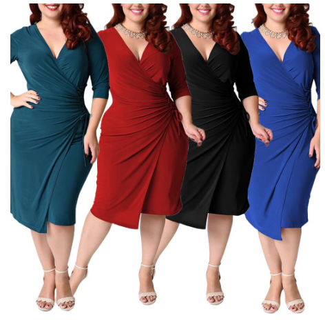 2020 Summer Sexy Party Dress For Fat Female Plus Size Vintage Dress 4XL 5XL Wome