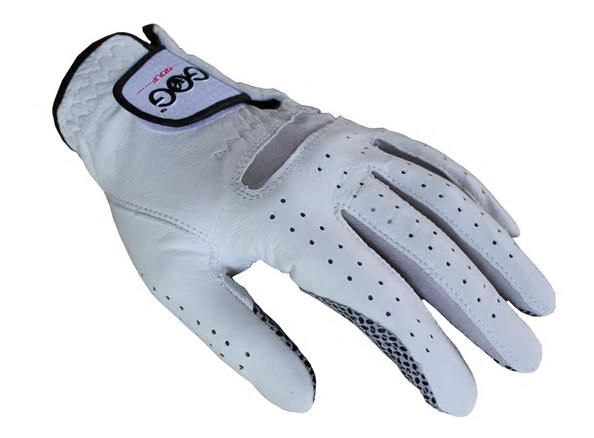 Men's Left Right Hand Soft Breathable Pure Sheepskin Golf Gloves Genuine Leather