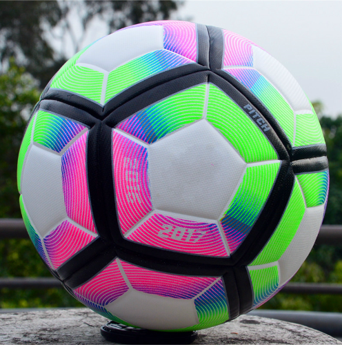 2018 High Quality Champions League Official Size 5 Football Ball Material PU Pro