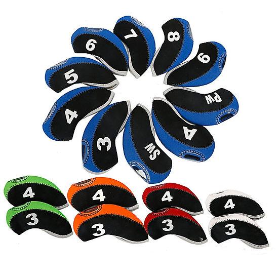 Head Covers Golf Irons Club 10pcs/Lot Neoprene Fit All Golf Club Irons