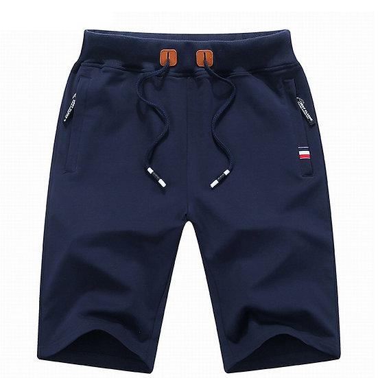 Woodvoice Brand Clothing Solid Men's Shorts Summer Mens Beach Shorts Cotton