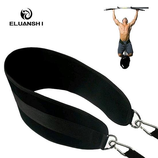 Fitness Equipments Drop Shipping Dip Belt Weight Lifting Gym Body Waist Strength