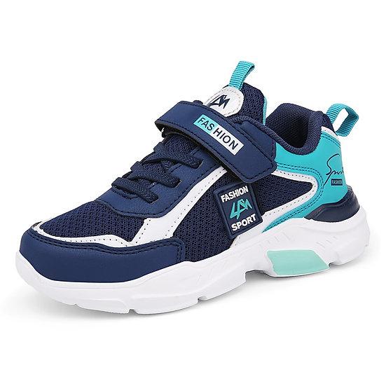 Spring Children Shoes Boys Sneakers Big Kids Boys Sport Shoes Fashion Pu Anti-