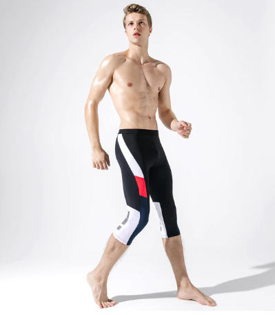Men Sport Pants Training-Pants Low-Waist Stretch Outdoors Fitness Sweatpants Cro