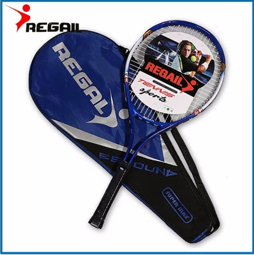 1 pcs High Quality Aluminum Alloy Tennis Racket Racquets Equipped with Bag Tenni