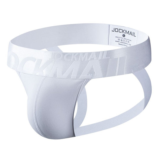 JOCKMAIL Tight Men Underwear Thong Jockstrap Cotton Breathable Mesh Jock Strap