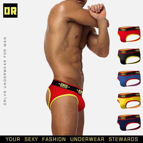 BS Brand Sexy Gay Jockstrap Underwear Men Tanga Hombre String Thong Lingerie