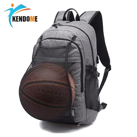Outdoor Men's Sports Gym Bags Basketball Backpack School Bags for Teenager Boys
