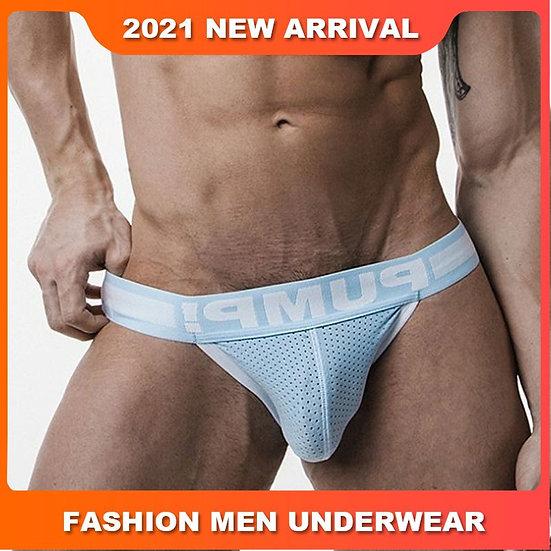 Popular Cotton Solid Breathable Sexy Gay Underwear Men Thong Men Jockstrap Man