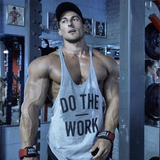 Brand Fitness Vest Gyms Clothing Singlet Y Back Tank Top Men Stringer Canotta