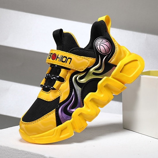 BENZELOR 2021 Spring Autumn Comfortable Children Shoes for Girls Boys Sneakers
