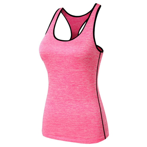 Women Quick-Dry Sports Running T-Shirt Gym Fitness Yoga Workout Tank Top Vest