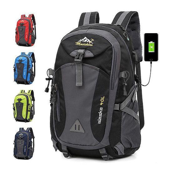 Hot Unisex Waterproof Backpack Men Large Capacity Bagpack Climbing Hiking Bag