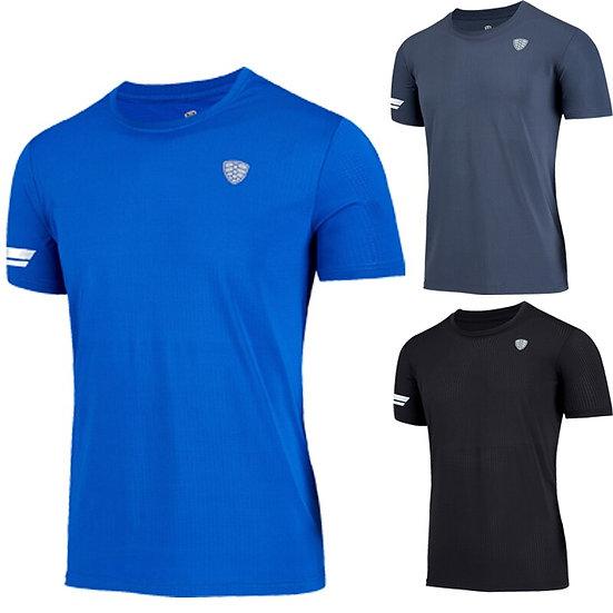 2019 New Quick Dry Running Shirt Fitness Tight Top T-Shirt Sport Shirt Men