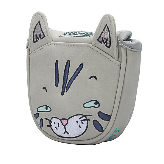 Golf Putter Headcover Magnetic Closure for Center-Shaft Club Cove Cartoon Cat