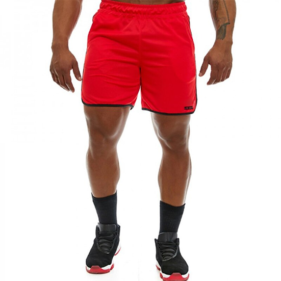 2020 Men Fitness Bodybuilding Shorts Man Summer Gyms Workout Male Breathable