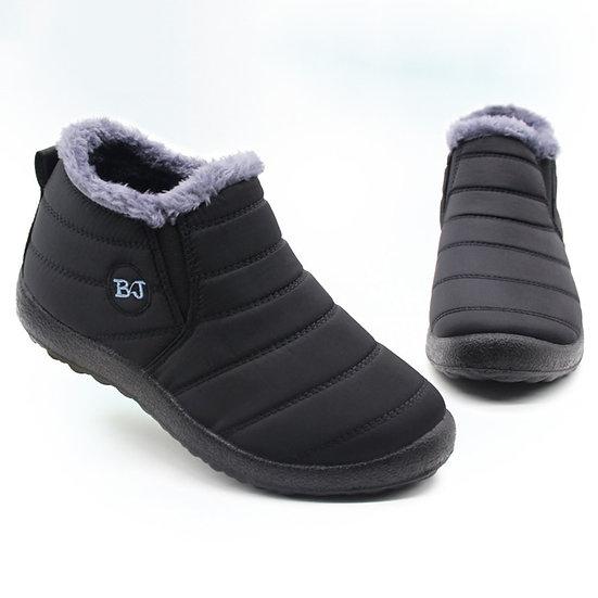 Men Boots Lightweight Winter Shoes for Men Snow Boots Waterproof Winter Footwear
