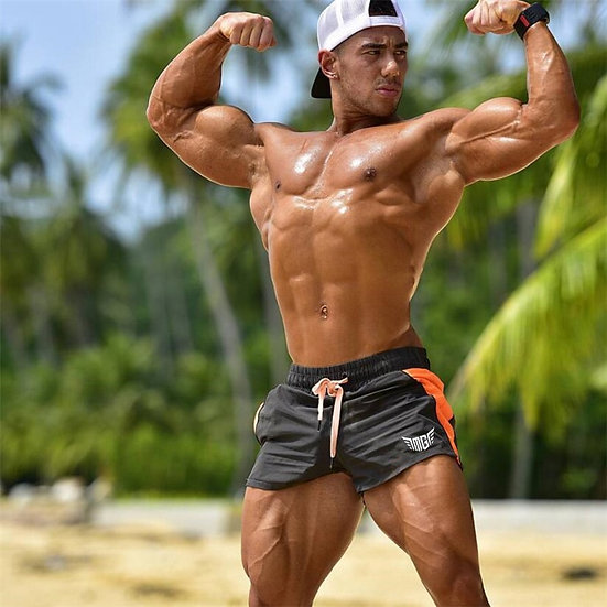 Gym Shorts Men Quick Dry for Running Shorts Men Fitness Slim Fit Sport Shorts