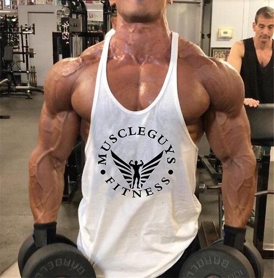 Muscle Guys Gyms Stringer Tank Tops Mens Sleeveless Shirt Tanktops Bodybuilding