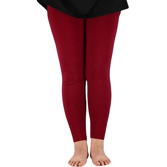 Casual Women Slim Leggings Bamboo Fiber Leggings Full Length Elastic Leggings
