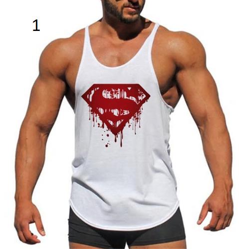 Super Hero Captain America brand clothing Singlets Mens Tank Top Muscle