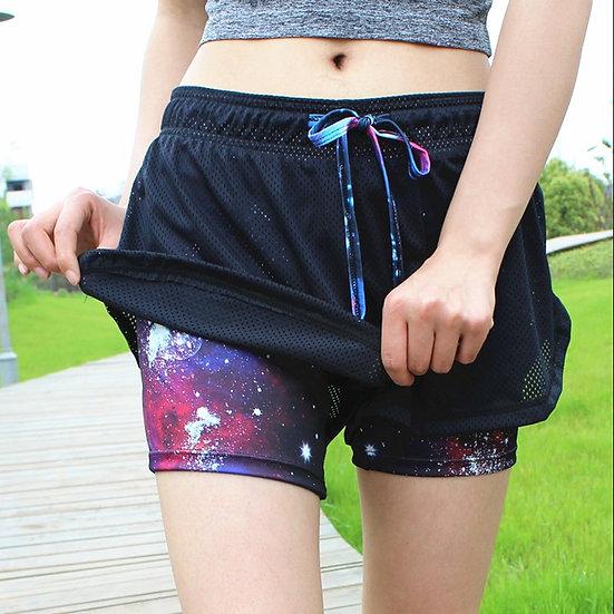 Womens Running Shorts Running Tights Short Women's Gym Cool Woman Sports Short