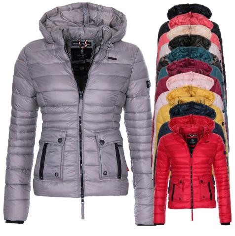 ZOGAA Women's Winter Parka Jacket Cotton Padded Warm Clothes Hooded Coat Women C