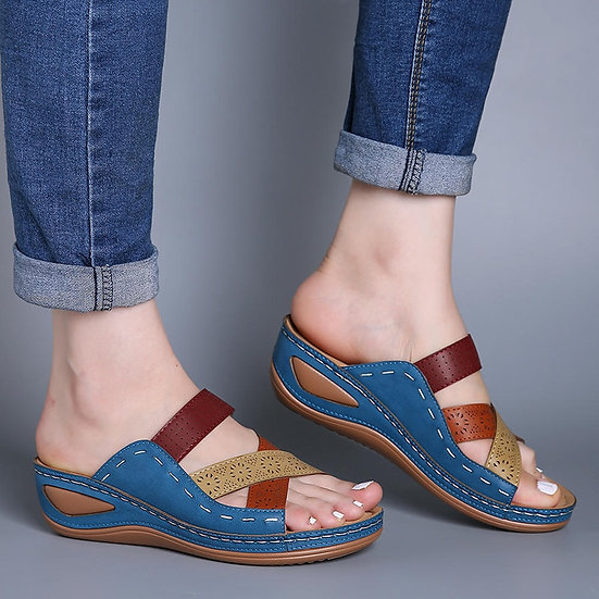 Women Sandals 2020 Fashion Wedges Shoes for Women Slippers Summer Shoes