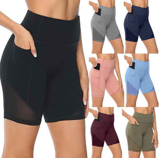 Women's shorts 2020 XS-5XL Women's Yoga Shorts Tights Sexy High Waist Sports sho