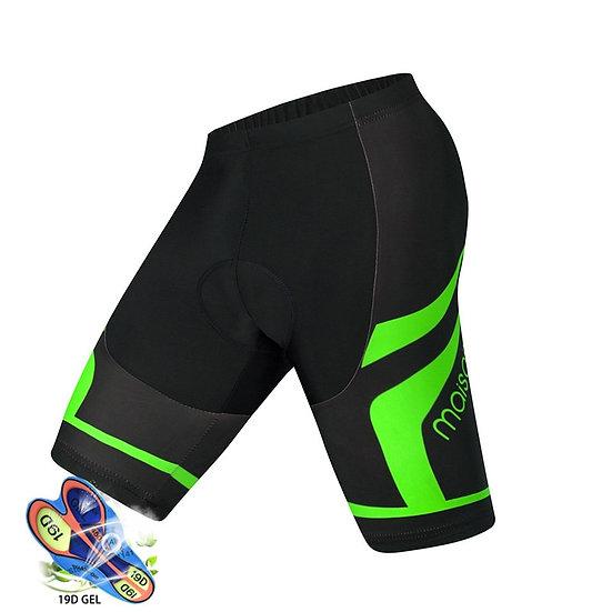 Pro Cycling Shorts Men 19D Anti Slip Padded Gel Bike Mtb Shorts Mountain Bicycle