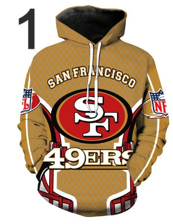 American Football Hoodie Mens Hoody Hip Hop 3d Print Pullover Sw