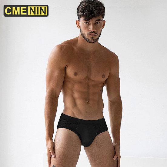 Sissy Cotton Sexy Underwear Men Jockstrap Low Waist Briefs Men Bikini Gay Man'