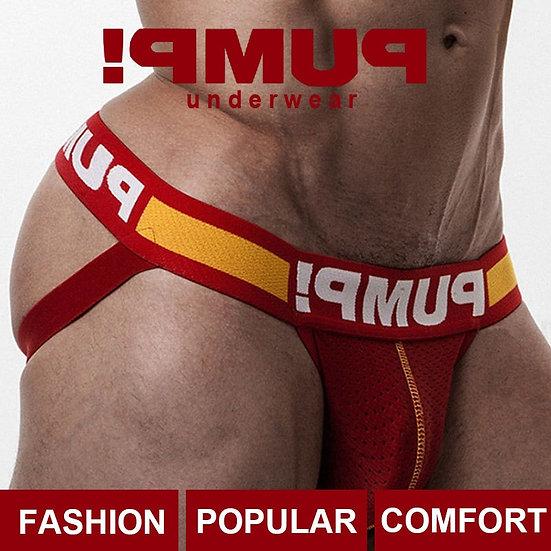 Breathable Cotton Gay Men Sexy Underwear Thong Men Jockstrap Popular Mens Thong