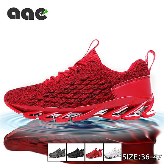 Trend Blade Shoes for Man Sneakers Fashion Mesh Breathable Running Shoes Tenis