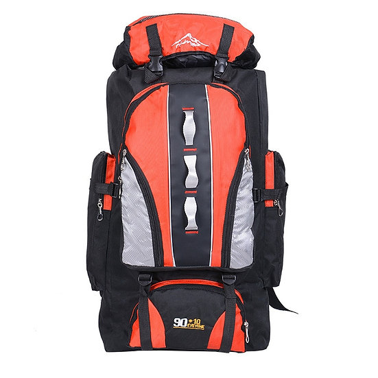 100L Large Capacity Outdoor Sports Backpack Men and Women Travel Bag Hiking Camp