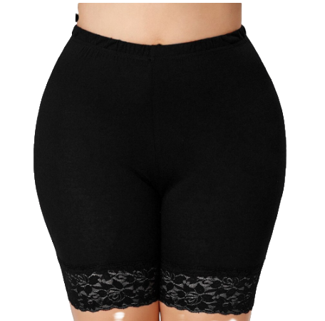 Missomo Clothing 5xl women large size waist lace hot shorts stretch wear skirt h