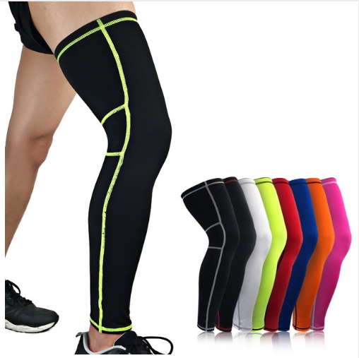 Sports Football Leggings Knee Pads Outdoor Riding Running Gear Leg Warmers Breat