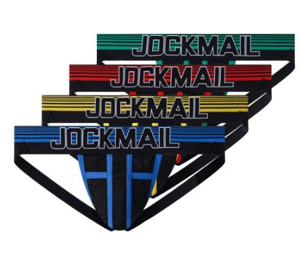 jockmail mSexy Gay Men Underwear Male Lingerie Jockstrap G String Thongs Mens Un