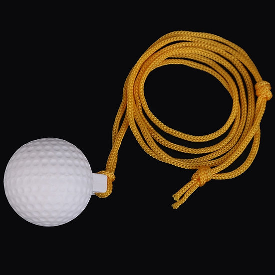 New Arrivals Pocket Durable Reuseable Golf Swing Practice Solid Ball With String
