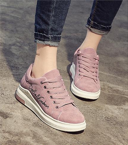 Mhysa 2018 Spring New Designer Wedges Pink Platform Sneakers Women Vulcanize Sho